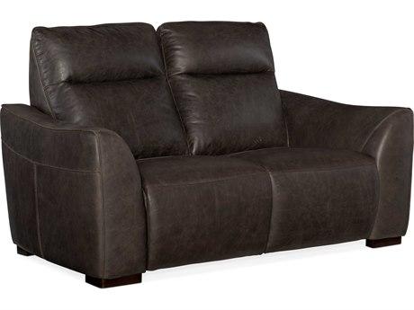 Hooker Furniture Athena Saddlebag Lead Loveseat Sofa