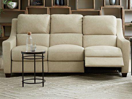Hooker Furniture Monti Rancho Ecru / Dark Wood Sofa Couch