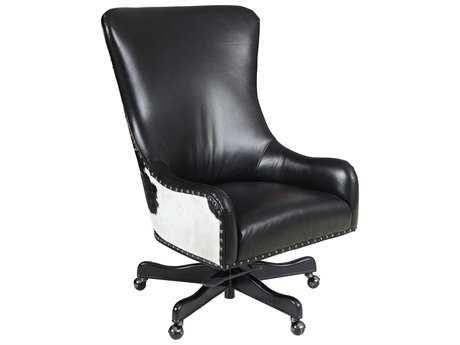 Hooker Furniture Nouveau Dark Wood Executive Swivel Tilt Chair HOOEC420099