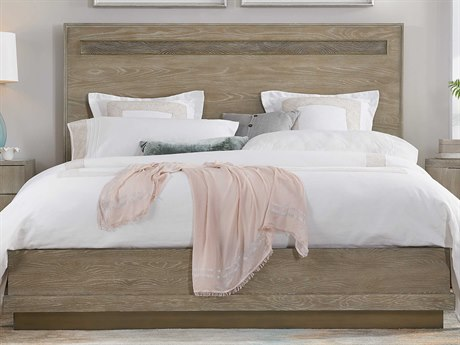 Hooker Furniture Pacifica Light Wood King Panel Bed