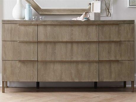 Hooker Furniture Pacifica Light Wood Nine-Drawers Triple Dresser HOO607590002LTWD