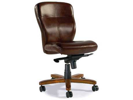 Hooker Furniture Padovanella Mogano Medium Wood Executive Swivel Chair HOOEC289