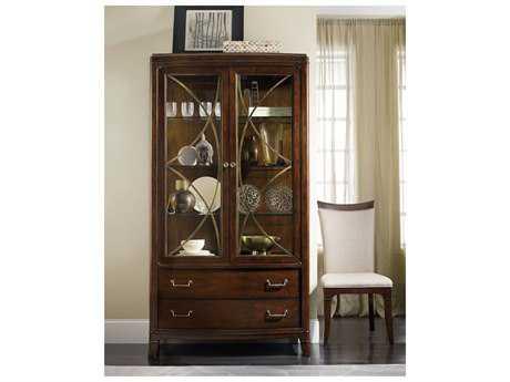 Hooker Furniture Palisade Dark Wood China Cabinets HOO518375906