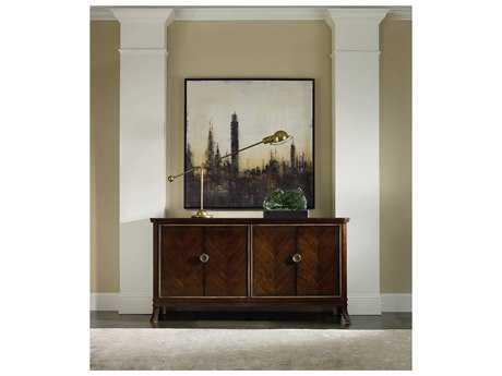 Hooker Furniture Palisade Dark Wood 68''Lx 18''W Buffet