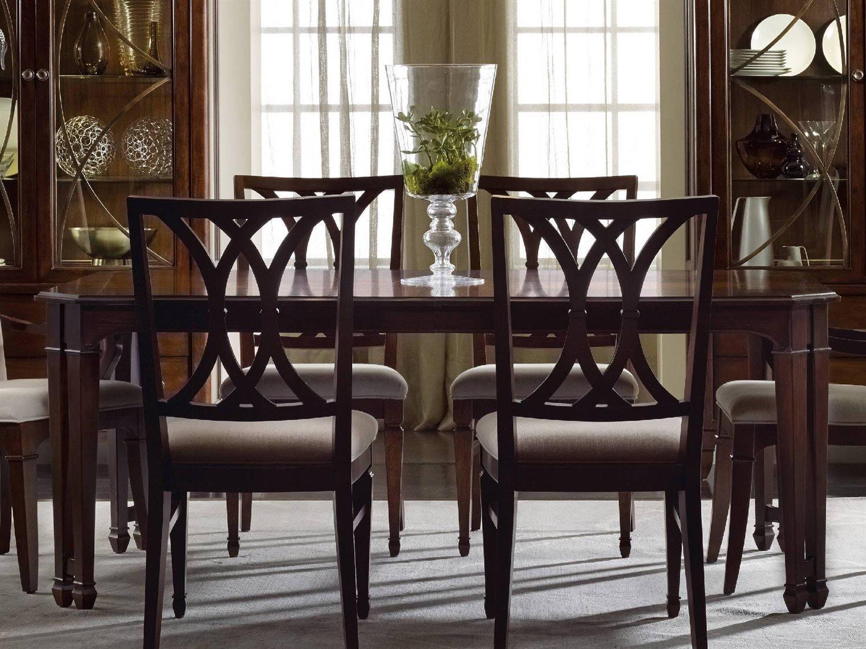 Hooker Furniture Palisade Dark Wood 9''L x 9''W Rectangular Dining Table