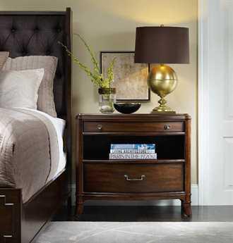 Hooker Furniture Palisade Upholstered Panel Bed Bedroom Set