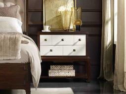 Palisade White, Cream & Beige 32''W x 17''D Rectangular Nightstand