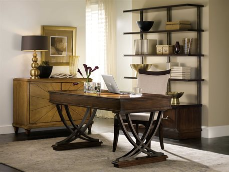 Hooker Furniture Palisade Home Office Set HOO518310458SET