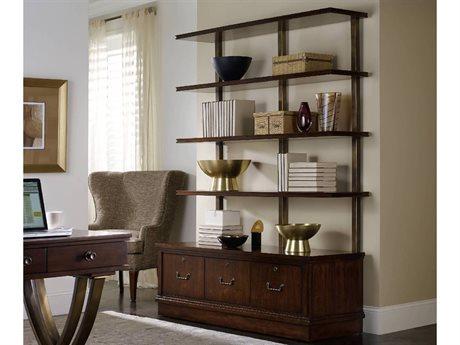 Hooker Furniture Palisade Dark Wood Bookcase