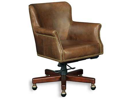 Hooker Furniture Parthenon Temple Natchez Brown Executive Chair HOOEC443088