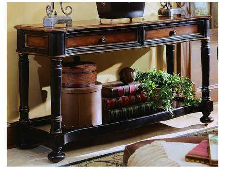 Hooker Furniture Preston Ridge Black 59''L x 19''W Rectangular Console Table HOO86480151