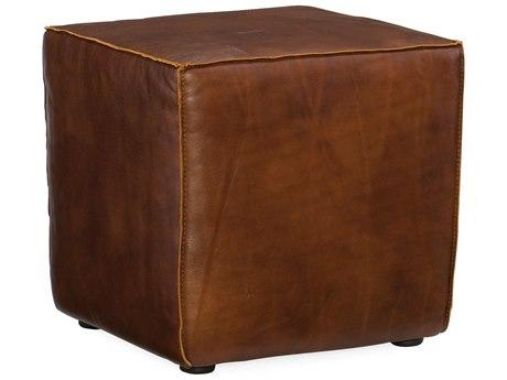 Hooker Furniture Quebert Old English Saddle Ottoman HOOCO393087