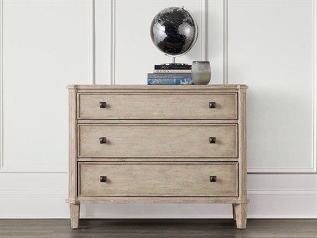 Hooker Furniture Refuge White Oak 43''W x 19''D Accent Chest Cabinet HOO565085002WH