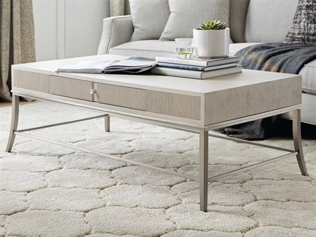 Hooker Furniture Reverie Gray 54'' Wide Rectangular Coffee Table