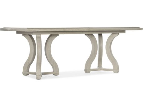 Hooker Furniture Reverie Gray 86-122'' Wide Rectangular Dining Table with Extension
