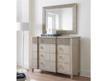 Hooker Furniture Reverie Double Dresser with Wall Mirror Set