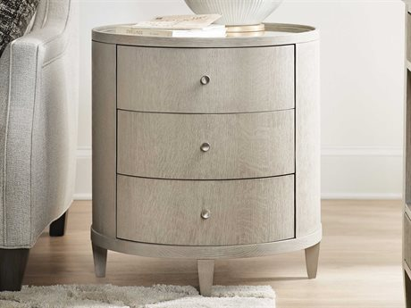 Hooker Furniture Reverie Gray 24'' Wide Round End Table