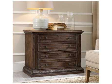 Hooker Furniture Rhapsody Rustic Walnut Lateral File Cabinet