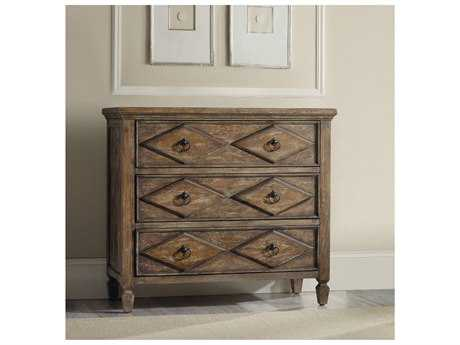 Hooker Furniture Rhapsody Rustic Walnut 38''W x 18''D Diamond Accent Chest HOO507485001