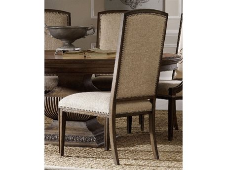Hooker Furniture Rhapsody Rustic Walnut Side Dining Chair HOO507075410