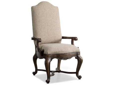 Hooker Furniture Rhapsody Rustic Walnut Dining Arm Chair