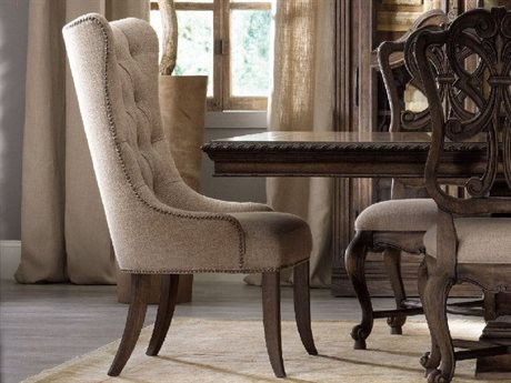 Hooker Furniture Rhapsody Rustic Walnut Side Dining Chair HOO507075511