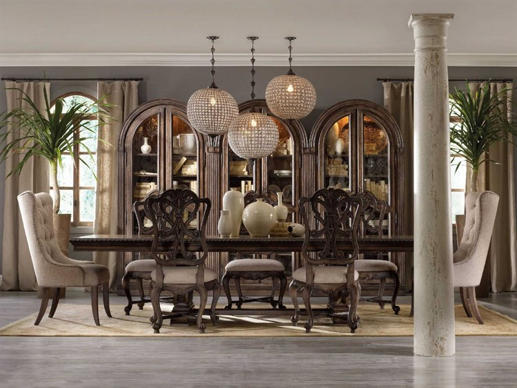 4b6a7c3579 Hooker Furniture Rhapsody Dining Room Set | HOO507075207SET