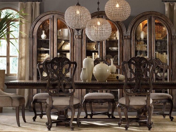 Hooker Furniture Rhapsody Rustic Walnut 88 L X 46 W Rectangular