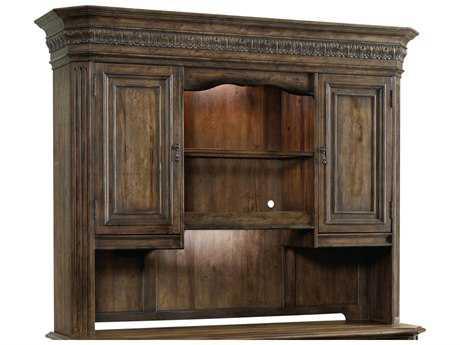 Hooker Furniture Rhapsody Rustic Walnut Computer Credenza hutch