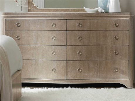 Hooker Furniture Modern Romance Medium Wood 8 Drawers and up Double Dresser