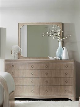 Hooker Furniture Modern Romance Double Dresser with Mirror