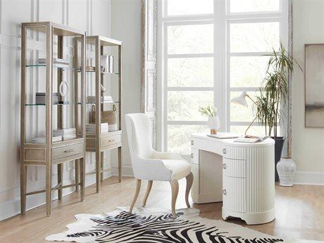 Hooker Furniture Modern Romance Home Office Set HOO165210458WH1SET