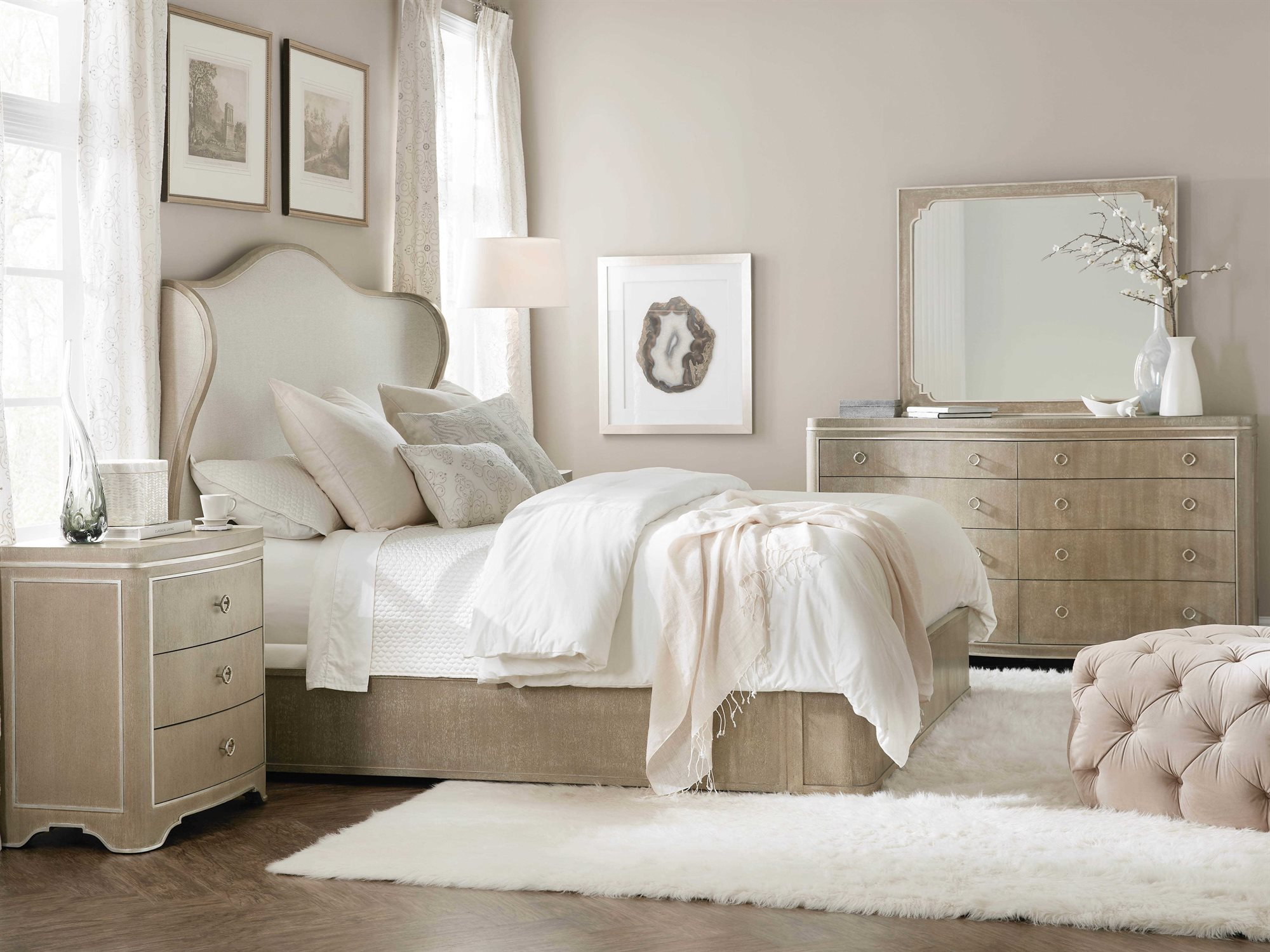 Hooker Furniture Modern Romance Bedroom Set