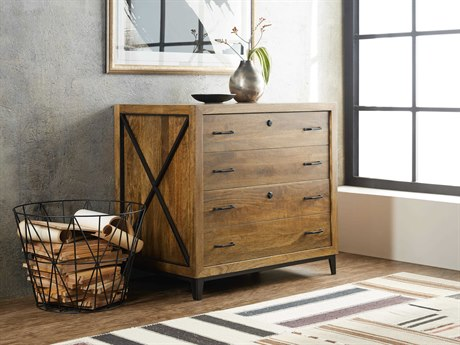 Hooker Furniture Rustique Medium Wood Lateral File Cabinet
