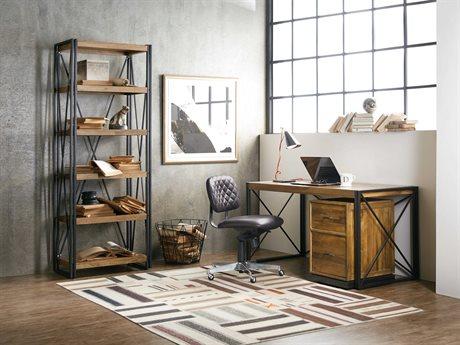 Hooker Furniture Rustique Home Office Set HOO562110460MWDSET