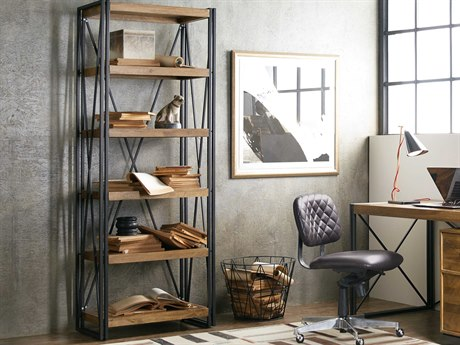 Hooker Furniture Rustique Medium Wood Bookcase HOO562110445MWD