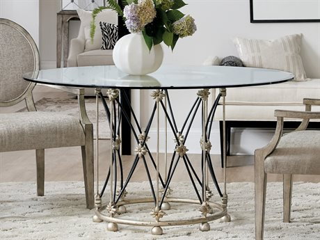 Hooker Furniture Sanctuary-2 Silver 60'' Wide Round Dining Room Table