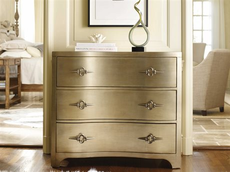 Hooker Furniture Sanctuary Antique Mirror & Gold 38''W x 20''D Accent Chest