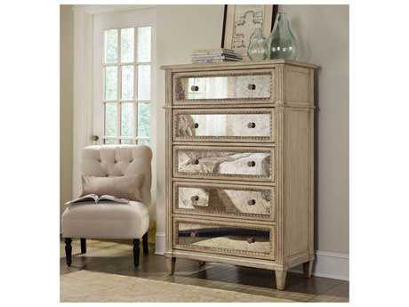 Hooker Furniture Sanctuary Pearl Essence 38''W x 20''D Rectangular Chest of Drawers HOO302390010