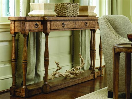 Hooker Furniture Sanctuary Antique Driftwood 72\'\'L x 12\'\'W ...