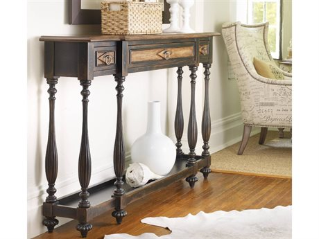 Hooker Furniture Sanctuary Ebony 60''L x 12''W Rectangular Console Table HOO300585004