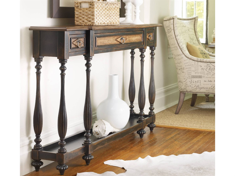 Fabulous Hooker Furniture Sanctuary Ebony 60L X 12W Rectangular Console Table Home Interior And Landscaping Mentranervesignezvosmurscom
