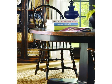 Hooker Furniture Sanctuary Windsor Ebony Dining Side Chair HOO300575330