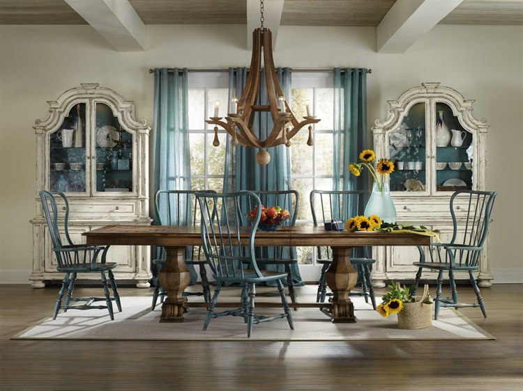 Hooker Furniture Sanctuary Traditional Casual Dining Room Set