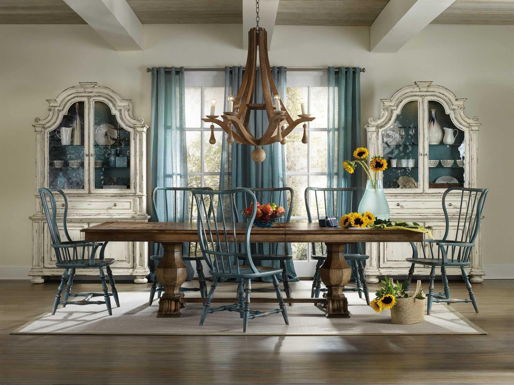 Furniture Sanctuary Traditional Casual Dining Room Set 5401 75206 Set2