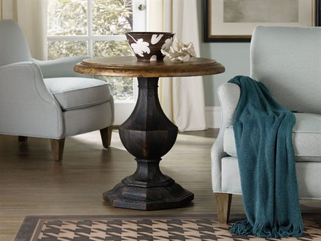 Hooker Furniture Sanctuary 30'' Wide Round Accent Pedestal Table