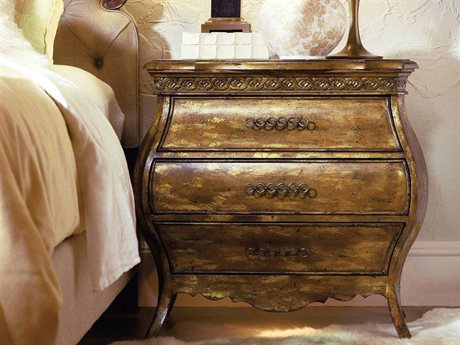 Hooker Furniture Sanctuary Bling 32''W x 18''D Rectangular Nightstand HOO301690217