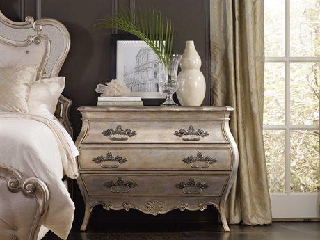 Hooker Furniture Sanctuary Bardot 46''W x 19''D Rectangular Bachelor Chest Nightstand