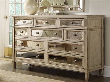 Hooker Furniture Sanctuary Pearl Essence Triple Dresser HOO302390002