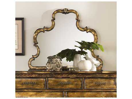Hooker Furniture Sanctuary Bling 45''W x 38''H Landscape Wall Mirror HOO301690009